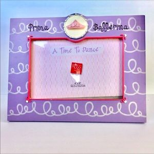 Russ Prima Ballerina Whimsical Picture Frame